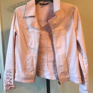 Baccini Champagne Pink Jacket